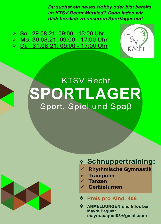 2021 Sportlager